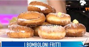 Detto Fatto - ricetta Bomboloni fritti di Giustina Dibello