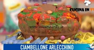 Detto Fatto - ricetta Ciambellone arlecchino di Antonino Orfanò