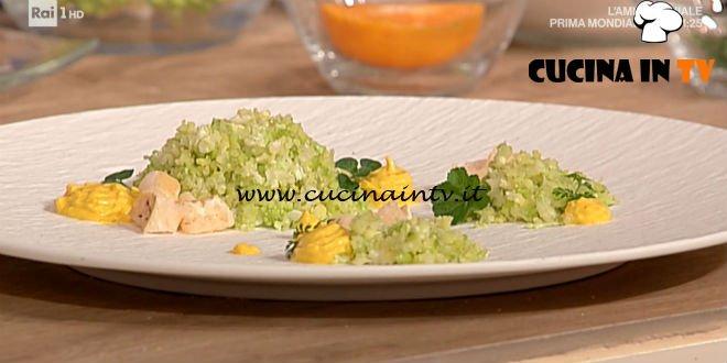 La Prova del Cuoco - ricetta Cous cous di cavolfiori di Cinzia Fumagalli