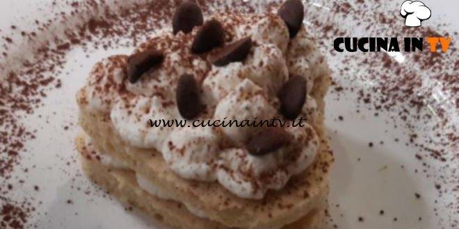 Cotto e mangiato - Cuore di panna e cioccolato ricetta Tessa Gelisio