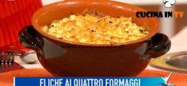 Detto Fatto - ricetta Eliche ai quattro formaggi di Simone Finetti