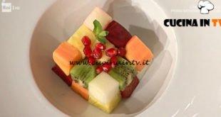 La Prova del Cuoco - ricetta Macedonia arlecchino di Cinzia Fumagalli