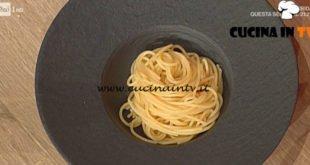 La Prova del Cuoco - ricetta Pasta al burro di Cinzia Fumagalli