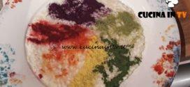 Geo - ricetta Risotto mantecato con crema di sedano rapa e verdure in polvere di Beppe Maffioli