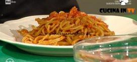 Geo | Strangozzi al rancetto ricetta Riccardo Giulietti