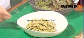 Geo | Tagiain di castagne al pesto ricetta Francesco Moscatelli
