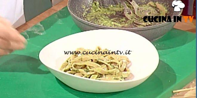 Geo - ricetta Tagiain di castagne al pesto di Francesco Moscatelli