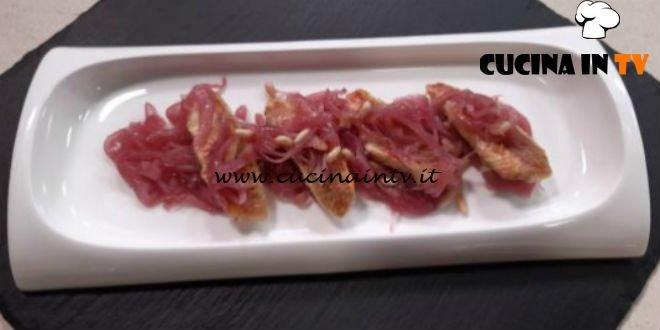 Cotto e Mangiato | Triglie con cipolle in agrodolce ricetta Tessa Gelisio