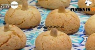 Mattino Cinque - ricetta Amaretti sardi di Samya