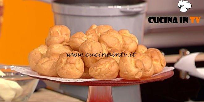 La Prova del Cuoco - ricetta Bignè di Alessandra Spisni