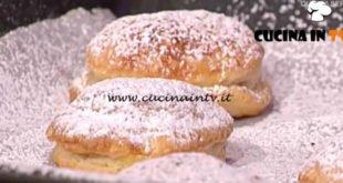 La Prova del Cuoco - ricetta Bomboloni di pasta sfoglia di Elisa Isoardi