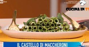 Detto Fatto - ricetta Castello di maccheroni di Matteo Torretta