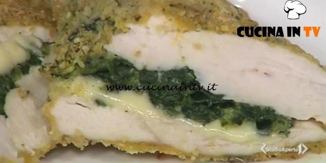 Cotto e mangiato - Cordon bleu di spinaci ricetta Tessa Gelisio