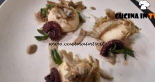 Cotto e mangiato - Gnudi toscani con polpo vongole e carciofi ricetta Luca Landi