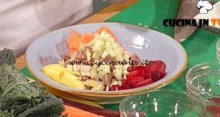 Geo - ricetta Insalatina di carne carote e cuore di sedano di Peppino Tinari