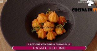 La Prova del Cuoco - ricetta Patate delfino di Cinzia Fumagalli