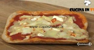 Cotto e mangiato - Pizza fatta in casa ricetta Tessa Gelisio