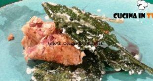 Geo - ricetta Tonno rosso di Carloforte in crosta di carasau di Manuele Fanutza