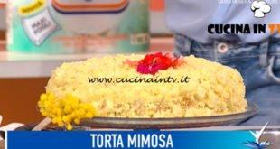 Detto Fatto - ricetta Torta mimosa di Antonino Orfanò