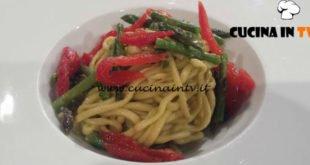 Geo - ricetta Chitarrina con asparagi e pomodoro candito di Giuseppe Tinari
