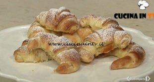 Cotto e mangiato - Cornetti alla marmellata ricetta Tessa Gelisio