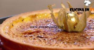 Ricette di un sognatore - ricetta Creme brulée in frolla di Damiano Carrara