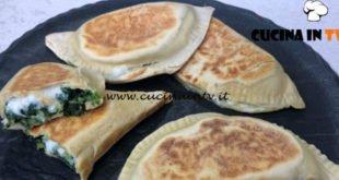 Cotto e mangiato - Crescione alle erbette ricetta Tessa Gelisio