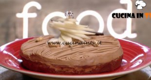 Ricette di un sognatore - ricetta Crostata al cioccolato con pere e cremoso al gianduia di Damiano Carrara