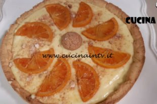 Cotto e mangiato - Crostata di amaretti con crema all'arancia ricetta Tessa Gelisio