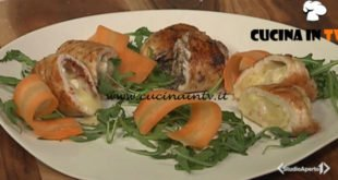 Cotto e mangiato - Involtini ai tre ripieni ricetta Tessa Gelisio
