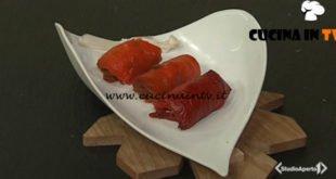 Cotto e mangiato - Involtini di peperoni ricetta Tessa Gelisio