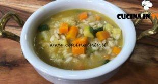 Cotto e mangiato - Minestrone di verdura e riso ricetta Tessa Gelisio
