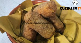 Cotto e mangiato - Rotolini di pancarrè fritti ricetta Tessa Gelisio
