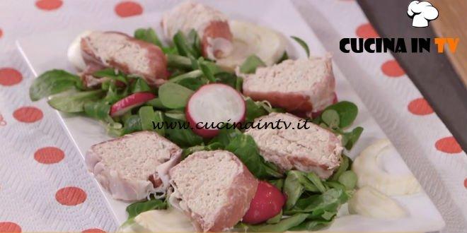 Ricette Italiana Di Pollo.Ricette All Italiana Rotolo Di Pollo E Prosciutto Ricetta Anna Moroni Cucina In Tv
