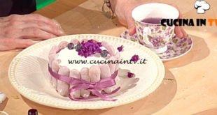 Geo - ricetta Torta alle violette e mirtilli di Alessia Uccellini