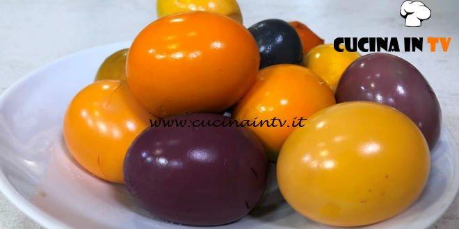 Cotto e mangiato - Uova sode colorate ricetta Tessa Gelisio