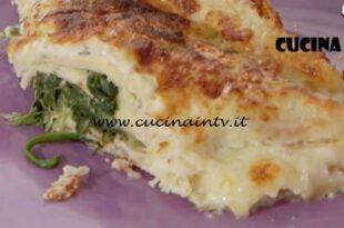 Ricette all'italiana - ricetta Crespelle all'arancia con spinaci e casatella di Anna Moroni