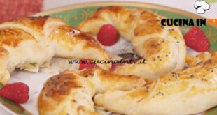 Ricette all'italiana - ricetta Fagottino con zucchine speck e lamponi di Anna Moroni