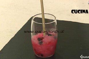 Cotto e mangiato - Granita ai frutti di bosco ricetta Tessa Gelisio
