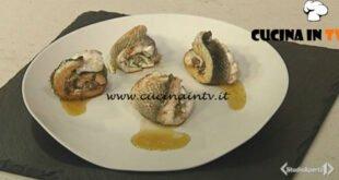 Cotto e mangiato - Involtini di pesce e zucchine ricetta Tessa Gelisio