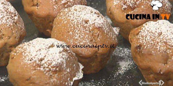 Cotto e mangiato - Muffin allo yogurt ricetta Tessa Gelisio