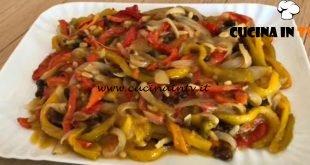 Giusina in cucina - ricetta Peperoni in agrodolce alla palermitana di Giusina Battaglia