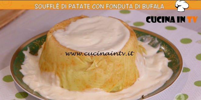 Ricette all'italiana - ricetta Soufflè di patate con fonduta di bufala di Anna Moroni