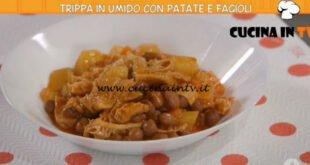 Ricette all'italiana - ricetta Trippa in umido con patate e fagioli di Anna Moroni