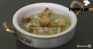 Cotto e mangiato - Vellutata broccoli e cannellini ricetta Tessa Gelisio