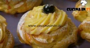 Fatto in casa per voi - ricetta Zeppole di San Giuseppe al forno di Benedetta Rossi