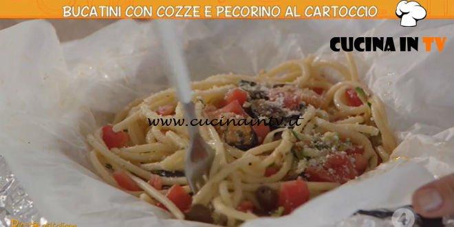 Ricette all'italiana - ricetta Bucatini con cozze e pecorino di Anna Moroni