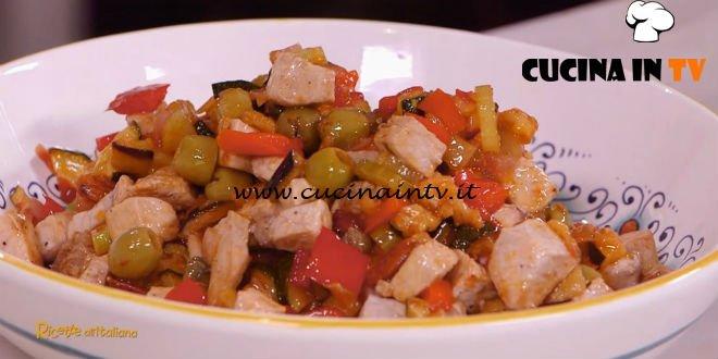Ricette all'italiana - ricetta Caponata di pesce spada di Anna Moroni