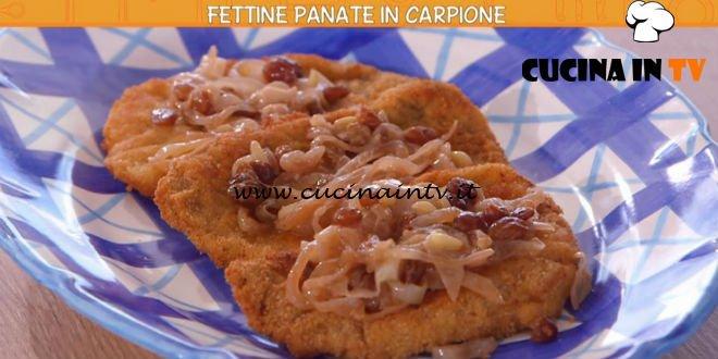 Ricette all'italiana - ricetta Fettine panate in carpione di Anna Moroni