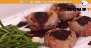 Ricette all'italiana - ricetta Filetto di manzo in camicia di speck di Anna Moroni